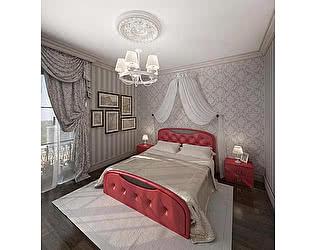 Кровать Армос Кристалл-5 с пуговицами