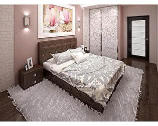 Кровать Армос Кристалл-6 со стразами