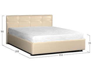 Купить кровать Moon Trade Птичье гнездо Модель 381 Суфле с подъемным механизмом