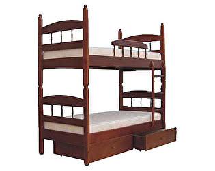 Кровать Шале Кузя 2 двухъярусная