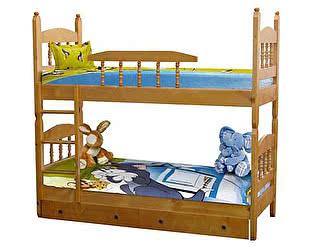 Кровать Шале Шрек 3 двухъярусная