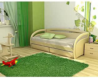 Кровать Торис Вега D1 (Донго) c ящиками (2 я 70 (Д))