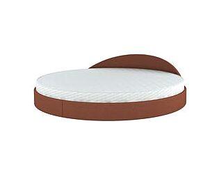 Круглая кровать Торис  Амата 1 (Кампо)
