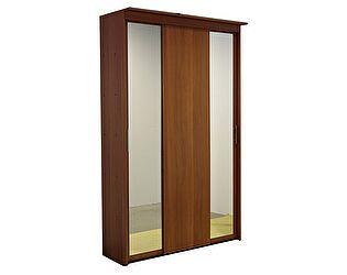 Шкаф-купе 3х дверный с 2 зеркальными дверями