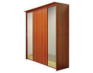 Шкаф-купе 4х дверный с 2 зеркальными дверями