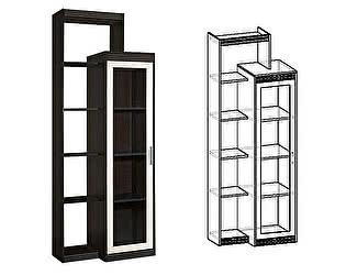 Купить шкаф Мебель Маркет Амадеус многоцелевой левый