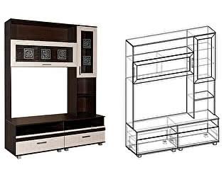 Купить гостиную Мебель Маркет Центральная секция Каролина