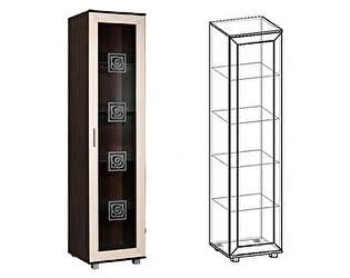 Купить шкаф Мебель Маркет Пенал Каролина 1 со стеклом