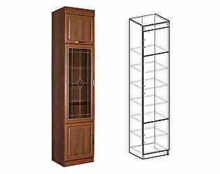 Пенал Мебель Маркет Сенатор со стеклом