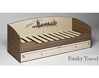 Кровать Фанки Тревел ФТР-01 с выдвижным ящиком