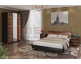 Купить спальню Лером Дольче Нотте ДК-101 (дуб венге/слива валлис)