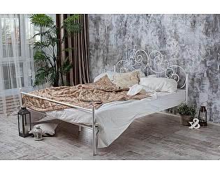 Кованая кровать Афина 1.8 с одной спинкой