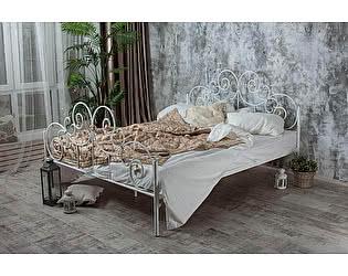 Кованая кровать Афина 1.8 с двумя спинками