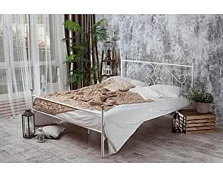 Кованая кровать Камелия 1.8 с одной спинкой