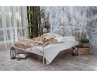 Кованая кровать Камелия 1.8 с двумя спинками