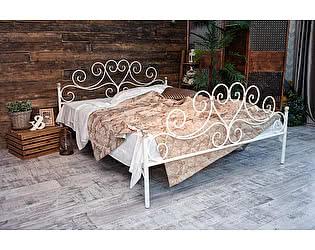 Кованая кровать Кармен 1.8 с двумя спинками