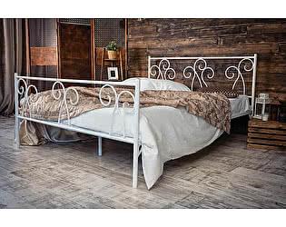Кованая кровать Лацио 1.8 с двумя спинками