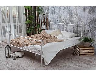 Кованая кровать Оливия 1.8 с двумя спинками