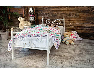 Купить кровать Francesco Rossi детская металлическая Бабочка