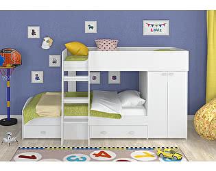 Двухъярусная кровать 4 сезона Golden Kids 2