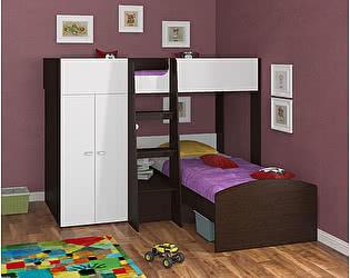 Двухъярусная кровать 4 сезона Golden Kids 4