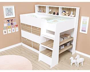 Купить кровать Белый слон ООО чердак Golden Kids 9