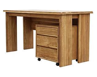 Стол письменный с подкатной тумбой Woodmos Лоредо