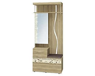 Купить прихожую Витра Ассоль 46.08 с крючками комбинированная с зеркалом