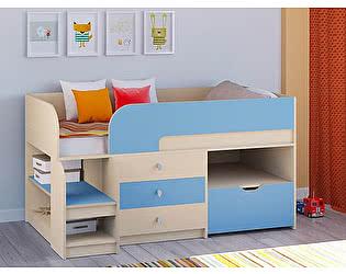 Купить кровать РВ Мебель чердак Астра-9 Дуб молочный V5