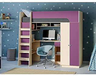 Купить кровать РВ Мебель чердак Астра-10