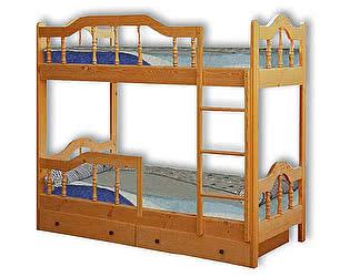 Кровать Велес-Арт Диана-3 2х ярусная