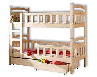 Купить кровать Велес-Арт Радуга 2х ярусная