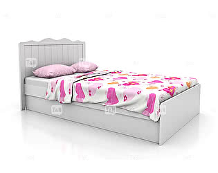 Купить кровать Tomy Niki Grace (90) 300A31 с подъемным механизмом и  ящиком