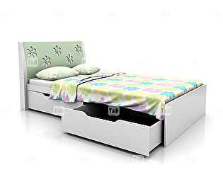 Кровать Tomy Niki Flower A22 (120) с двумя ящиками