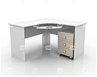 Купить стол Tomy Niki Michael S20 угловой c выкатной тумбой и полкой под клавиатуру