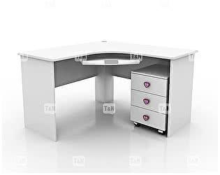 Купить стол Tomy Niki Mary S20 угловой c выкатной тумбой и полкой под клавиатуру
