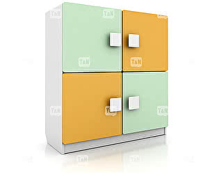 Шкаф Tomy Niki Tracy R22 книжный (2 полки)