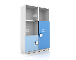 Шкаф Tomy Niki Rich R23 книжный (5 отделений)