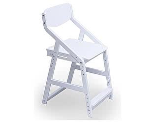 Купить стул 38 попугаев Робин ВУД растущий эргономичный (белый)