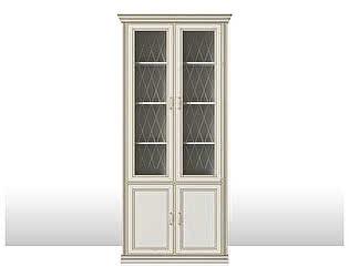 Шкаф 4-х дверный Кураж Венето (2 стеклодвери)