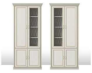 Купить шкаф Кураж Венето ГТ.0122.302 (1 стеклодверь) 4-х дверный