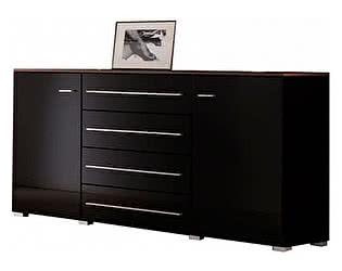 Купить комод BRW Янг S92-KOM2D4S black