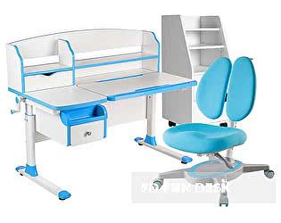 Купить стол FunDesk Sognare Blue, кресло Primavera II Blue, тумба SS15