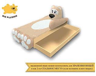 Купить кровать Big Plushik Мишка (с ящиком)