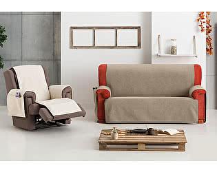 Купить чехол на диван Медежда Дублин на широкий трехместный диван непромокаемая