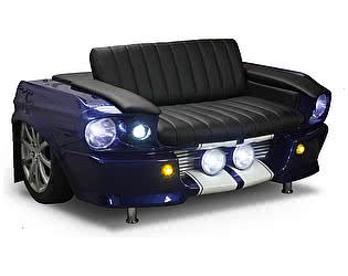 Купить диван Rolling Stol Ford Mustang (1967 г) цвет синий металлик, с подсветкой