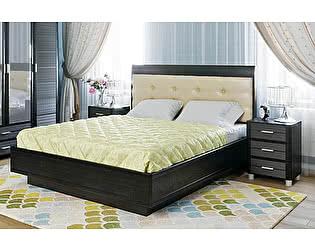 Купить кровать Лером Камелия КР-1052 (140) с мягким изголовьем и ПМ