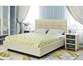 Купить кровать Лером Камелия КР-1053 (160) с мягким изголовьем и ПМ