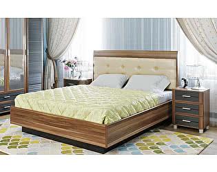 Купить кровать Лером Камелия КР-1054 (180) с мягким изголовьем и ПМ