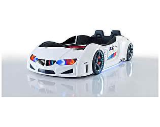 Кровать-машина WERT Mobilya BMW Lux (кожа)